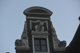 Interesting gable, Jordaan