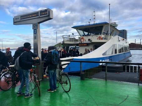 Ferry to Amsterdam-Noord