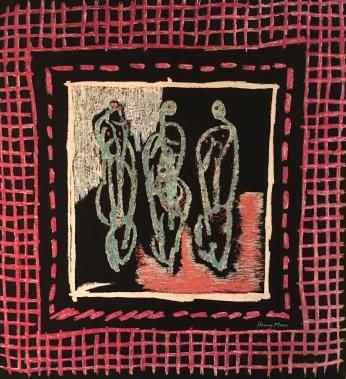 Henry Moore: Standing Figures, 1946