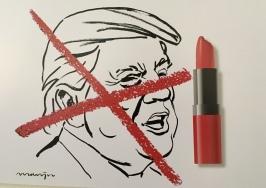 Political cartoon exhibition
