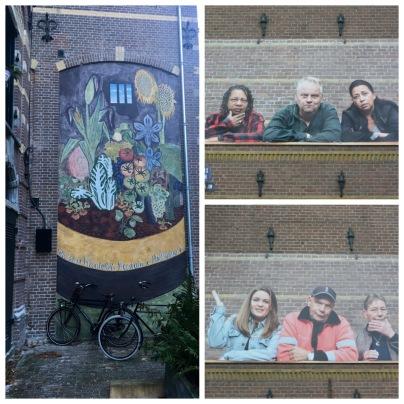 Western Islands / Jordaan street art