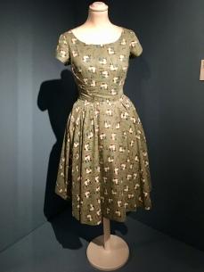Joan Miro: dress in Farmers Dinner, c1955