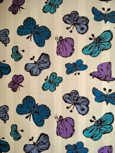Andy Warhol: Happy Butterfly Day, mid-1950s