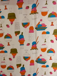 Andy Warhol: Ice Cream Sundaues, c1962