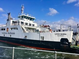 Cumbrae ferry arriving