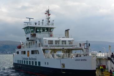Cumbrae ferry departing