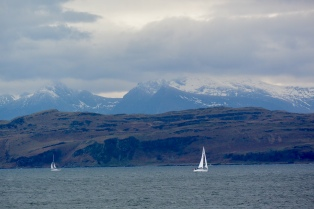 Views to Bute and Arran