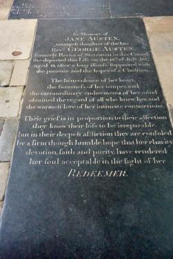 Jane Austen's grave