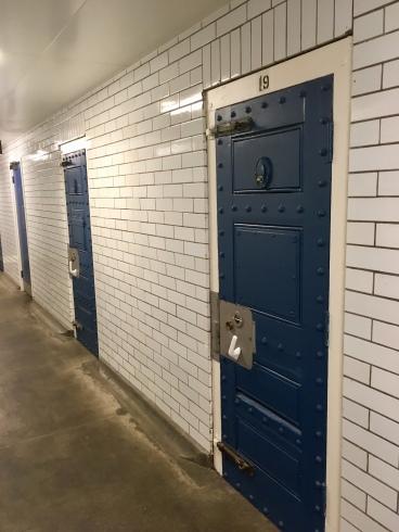 Toilet corridor - old cells