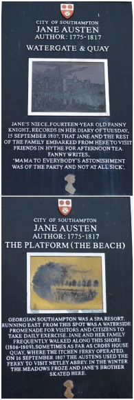 Southampton and Jane Austen