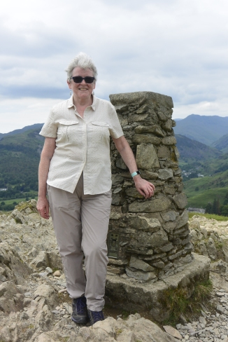 Loughrigg trig point