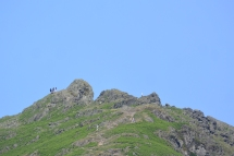 Helm Crag from Allan Bank