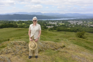 Windermere from School Knott