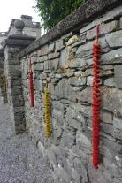 Rydal Hall garden wall