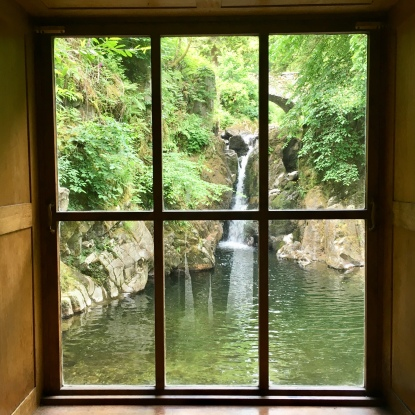 Rydal Hall waterfall