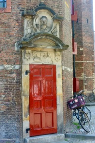 Waag (door detail)