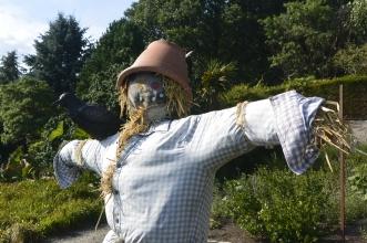 Pollok House scarecrow