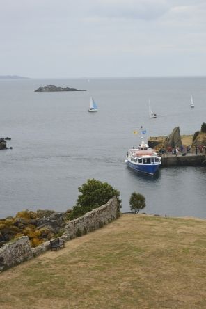Inchcolm from the bell tower