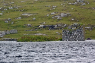 Loch Tangasdale and MacLeod's Tower