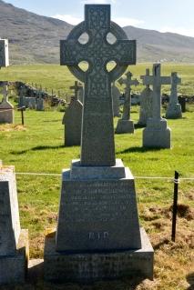 Father John MacMillan's grave