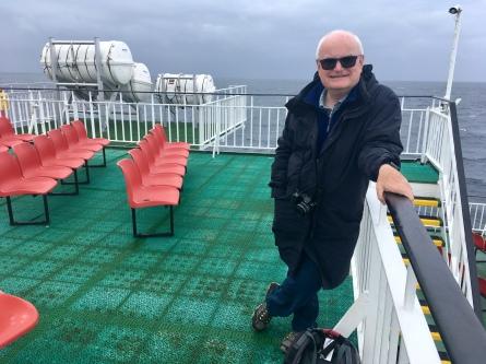 Top deck Calmac ferry