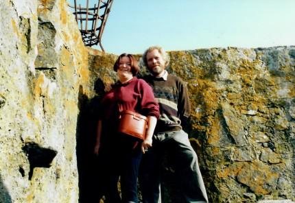 Kisimul Castle 1992: Pat and John