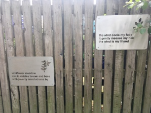 Greyfriars Garden fence