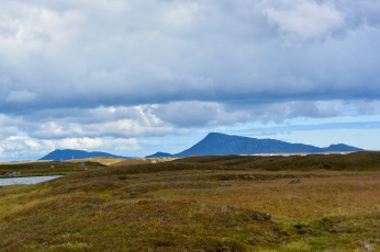 North Uist from Benbecula