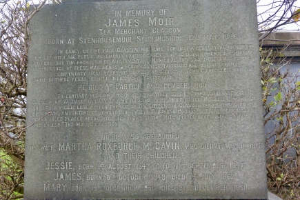 James Moir Obelisk