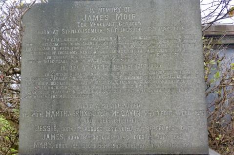 James Moir Obelisk