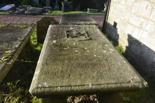 Grave of Rev Andrew Morton 1625-91