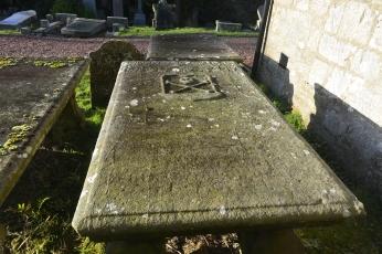 Grave of Rev Andrew Morton 1625-91