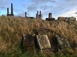 Rankine's gravestone