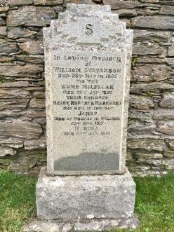Stevenson grave