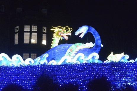 Dragon and Nessie