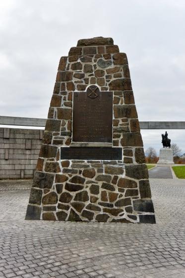 Battlefield memorial