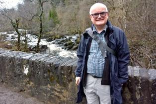 John at Rumbling Bridge