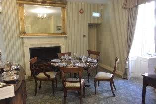 Robert Owen's dining room