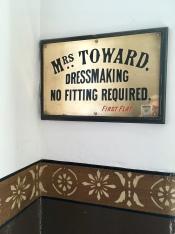 Mrs Toward's sign