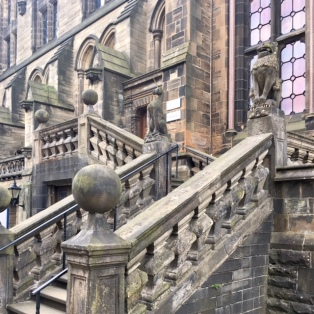 Lion and Unicorn Staircase