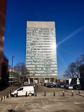 Arts Tower by day