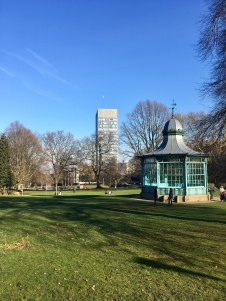 Arts Tower from Weston Park