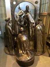 Steel Nativity by Brian Fell