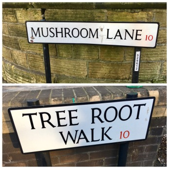 Sheffield street signs