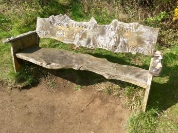 Wee John's bench