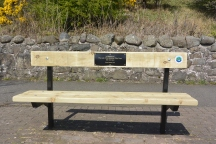 Last of the Summer Wine bench