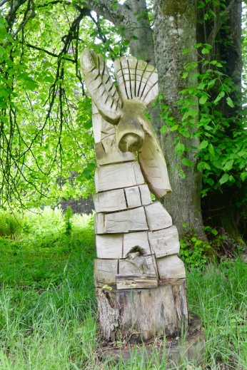 Woodland Walk: Owl and Mouse