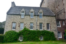 Monzie Castle - old house