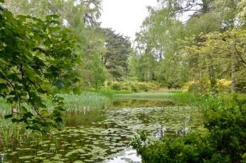 Monzie Castle gardens
