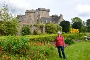 Monzie Castle and gardens